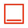 ovensymbool voor onderwarmte