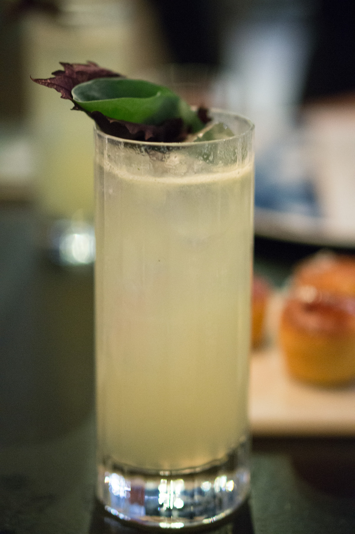 Coastal collins cocktail
