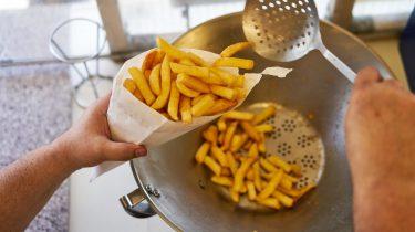 Vlaanderen = friet