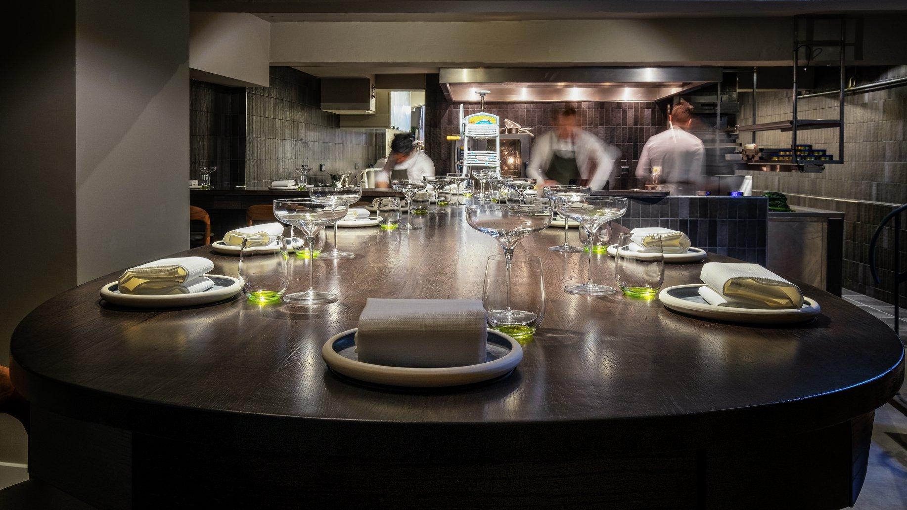 De chef's table bij The Lemon Tree in Deventer
