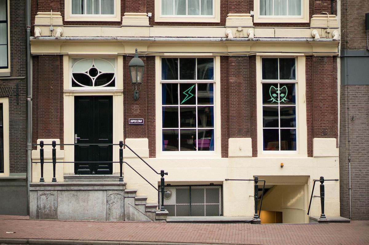 Het adres van Super Lyan Amsterdam