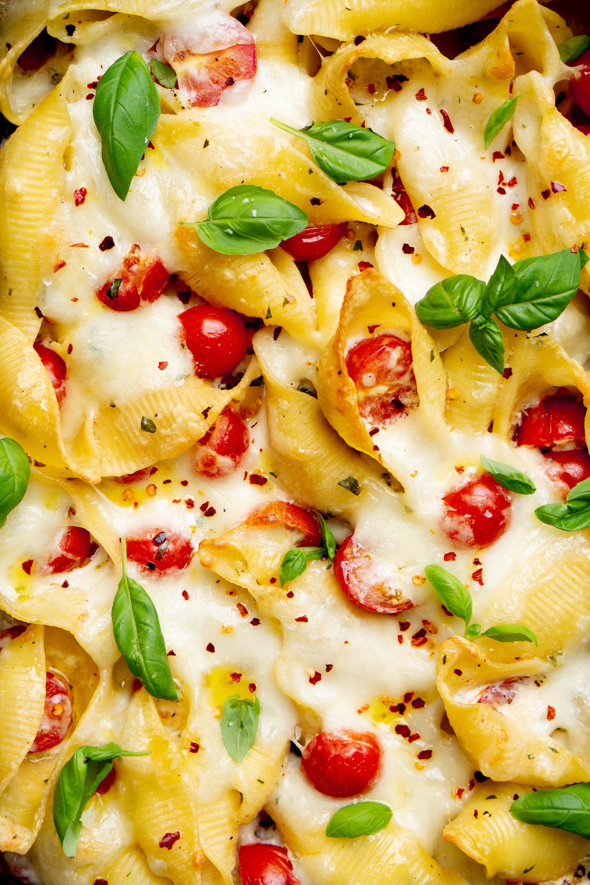 Makkelijke mac & cheese met mozzarella