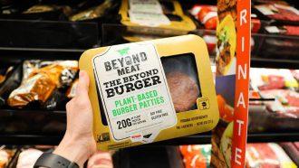 Beyond Burger in de supermarkt