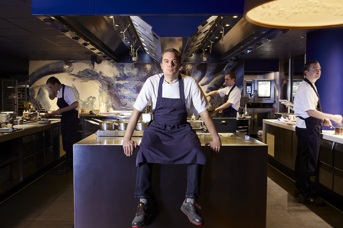 Chef Sander Bierenbroodspot van Bluespoon