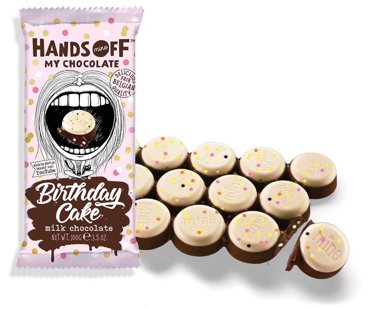 Astounding Omg Deze Nieuwe Chocoladereep Smaakt Naar Verjaardagstaart Culy Nl Personalised Birthday Cards Bromeletsinfo