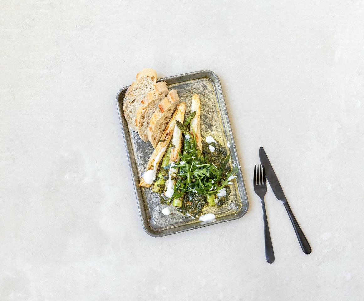 Gebakken asperges recept