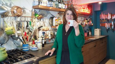 Yvette van Boven in haar keuken
