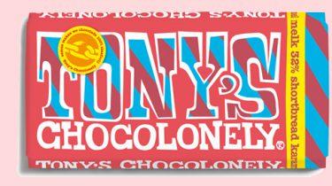 Nieuwste reep van Tony's Chocolonley