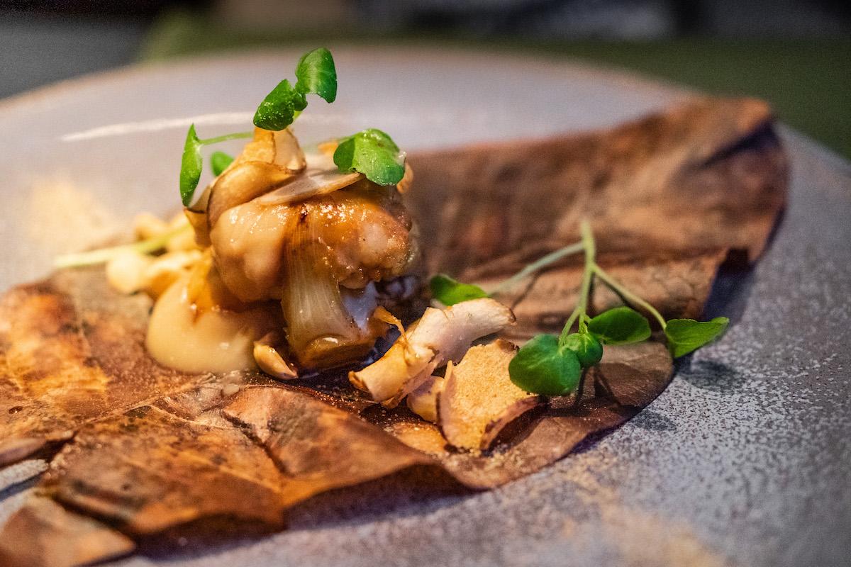Black cod a la Taiko - vegan dus met bloemkool