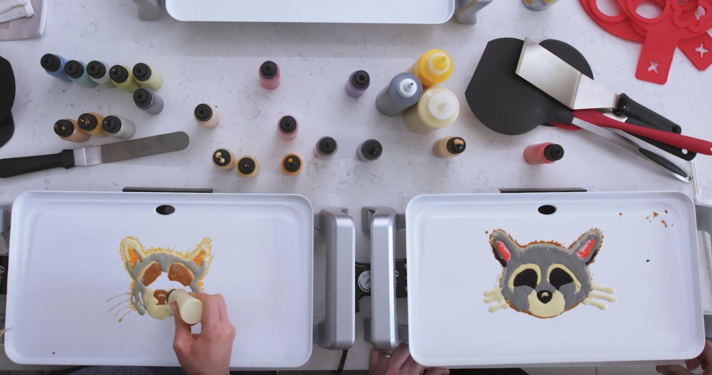Pancake art maken
