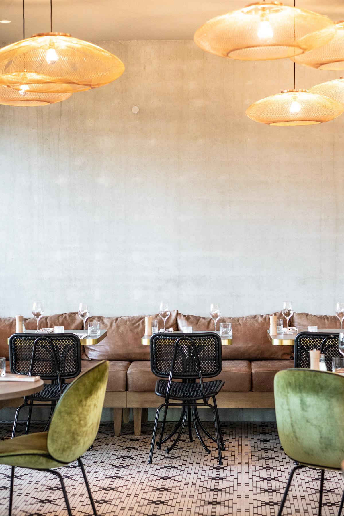 Het interieur van restaurant Persijn