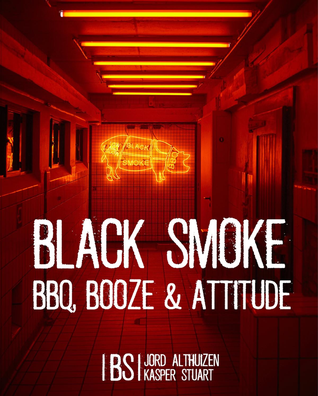 Afbeelding Black Smoke boek bbq