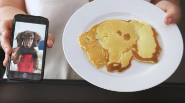 Video pancake art