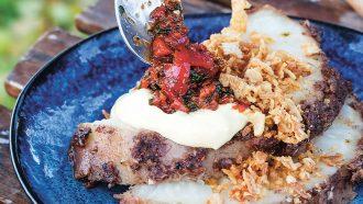 Jerk knolselderij met sambal en limoenaioli 2