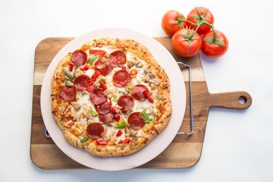 pizzasteen van jamie oliver