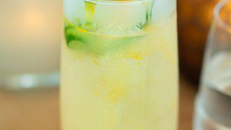 Pomme Highball cocktail met Belvedere Vodka