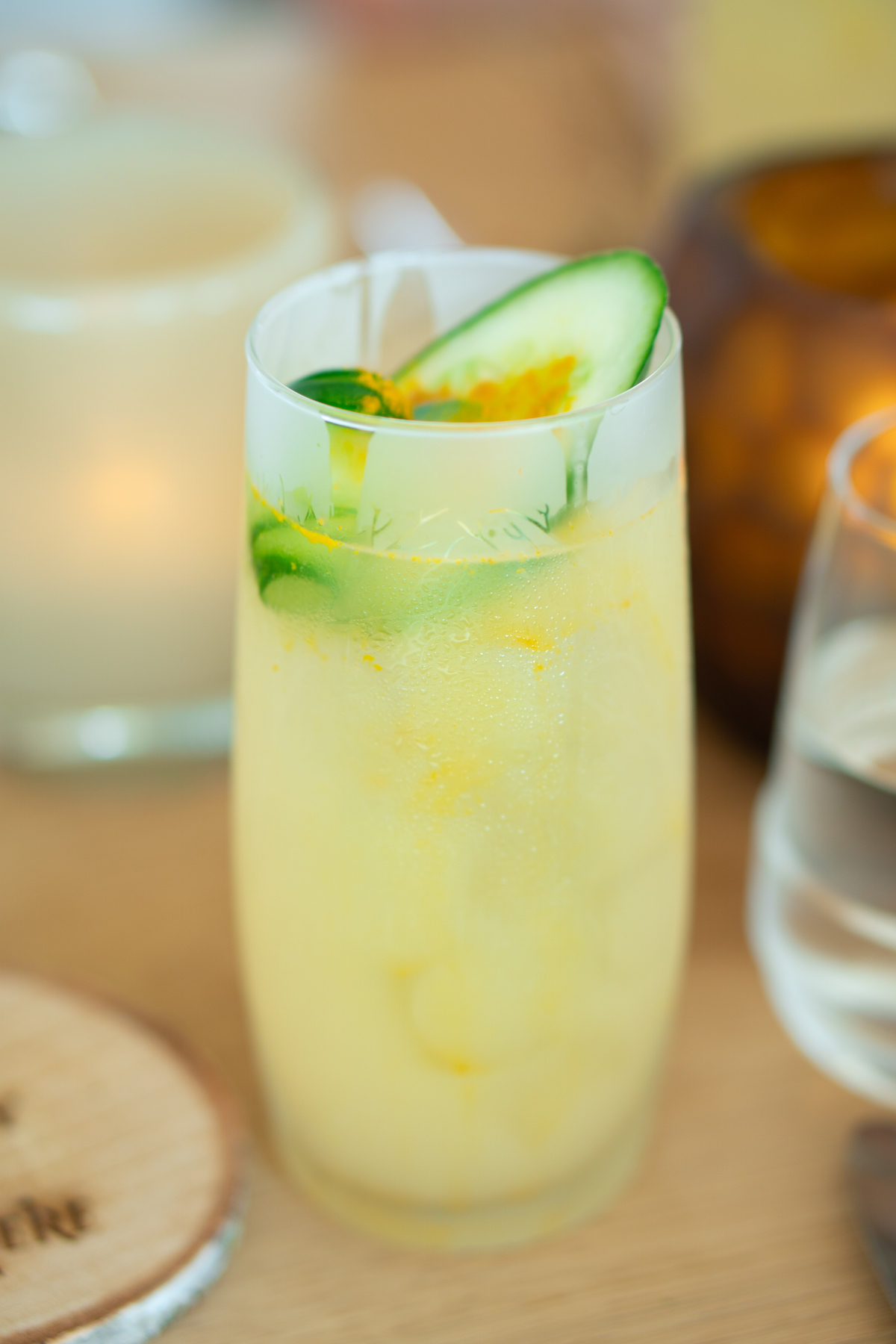 Pomme Highball cocktail met Belvedere Vodka