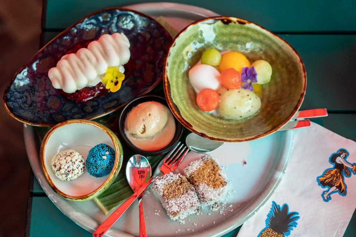 Dessert platter bij Rum Club
