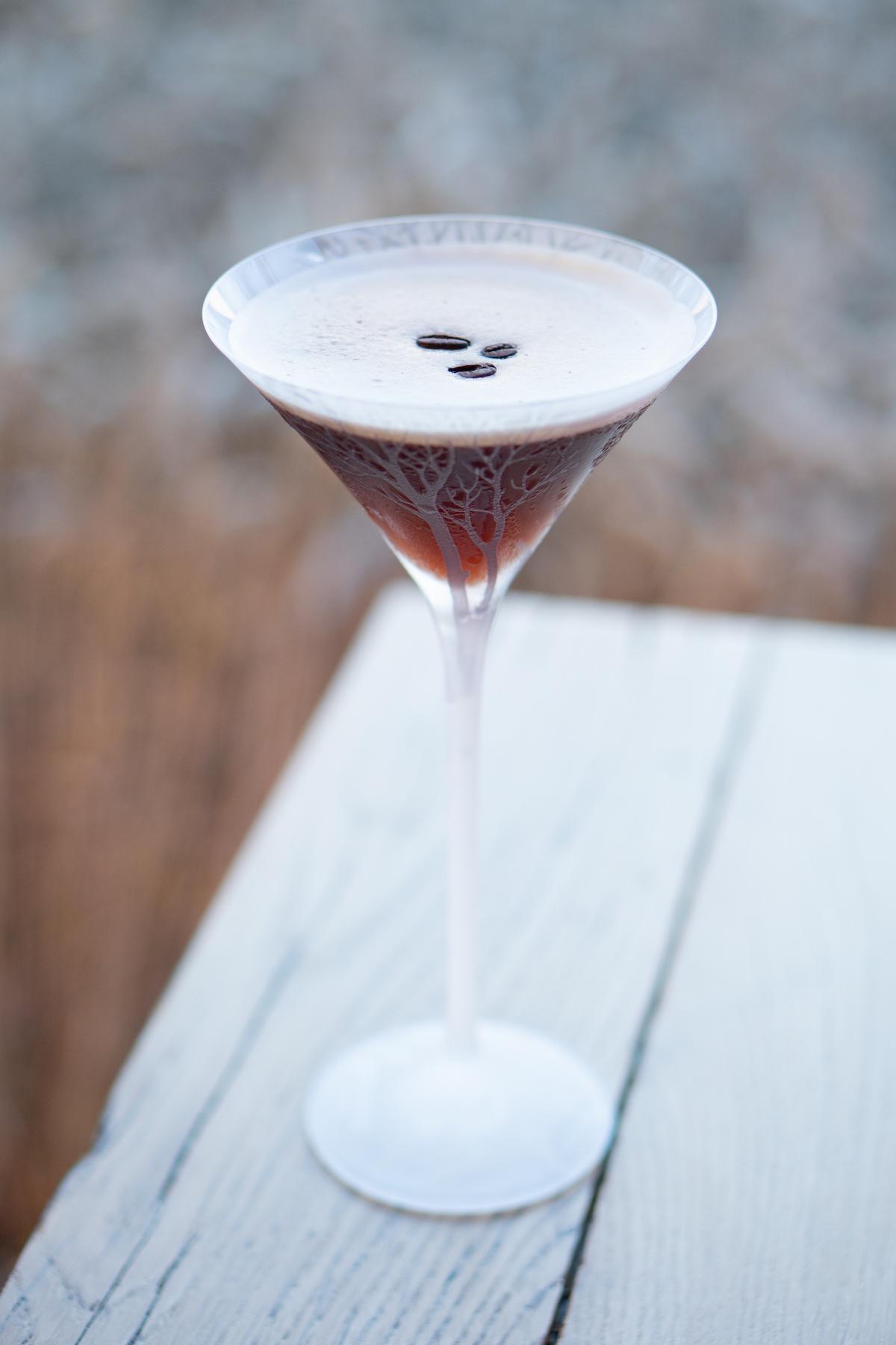 Espresso Martini van Schilo van Coevorden x Belvedere