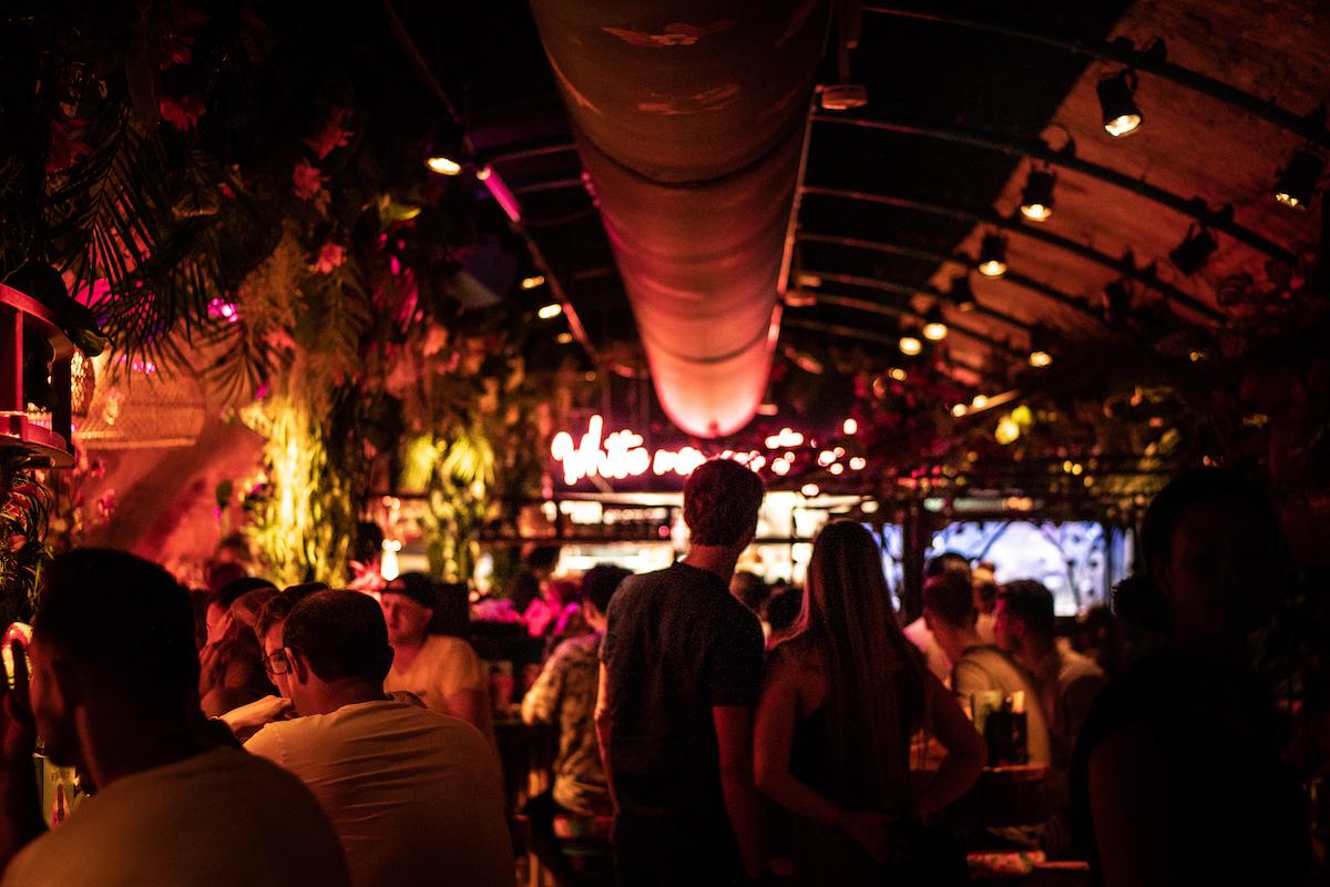 Binnen bij Rum Club Utrecht