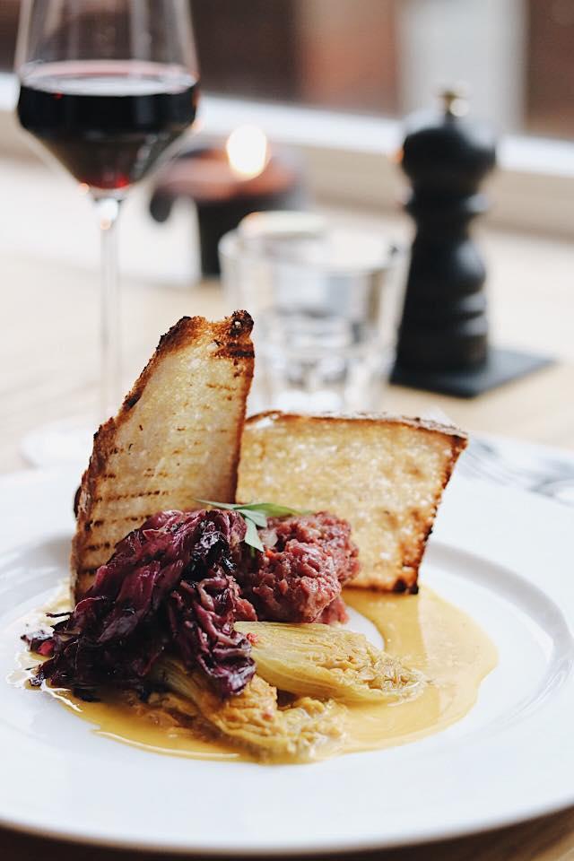 Steak tartare bij Zino