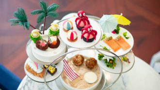 Summer Afternoon Tea Waldorf Astoria strandthema