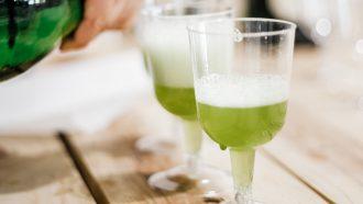 Afbeelding van absint groene drank