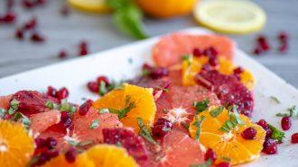 Afbeelding van fruitsalade met een twist