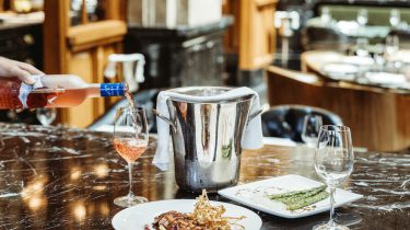 The Duchess wine-style tasting menu