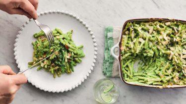 Jamie Oliver's vegetarische mac 'n cheese
