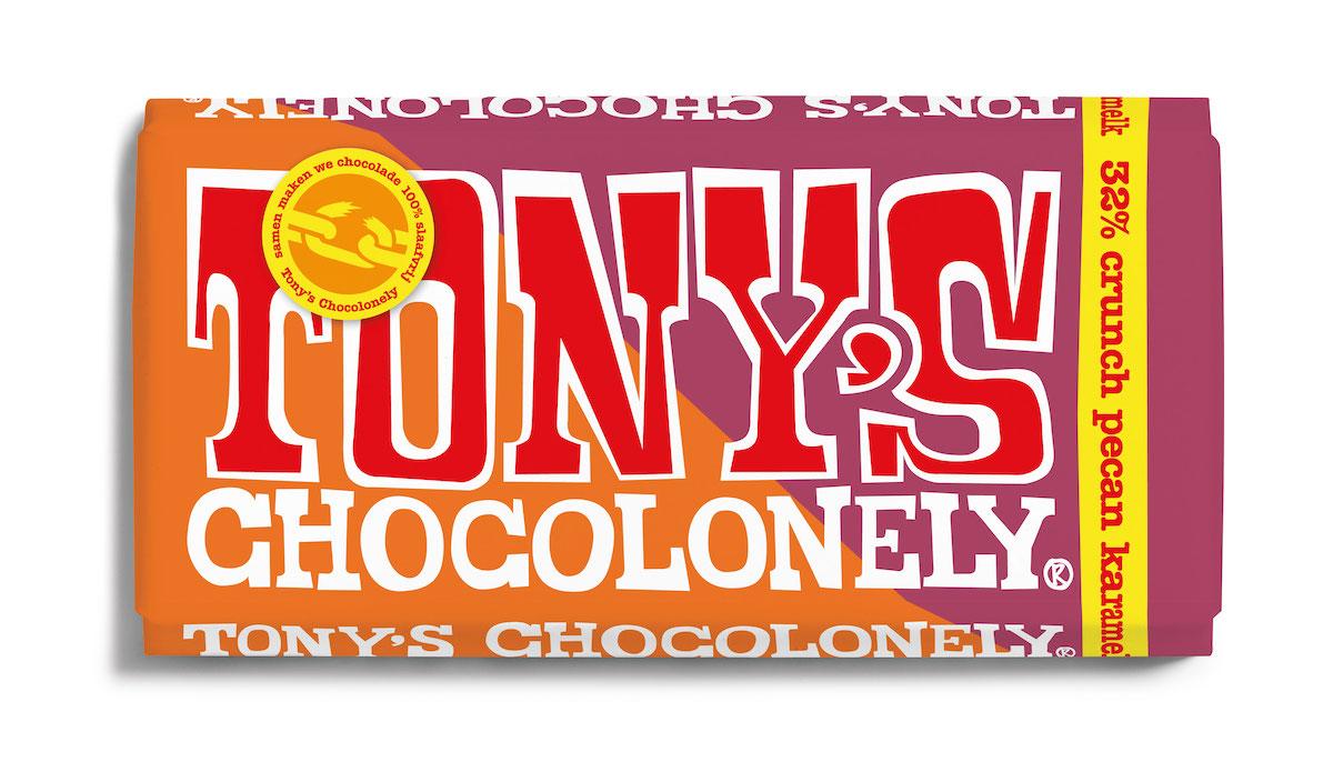 Nieuwe reep Tony's Chocolonely