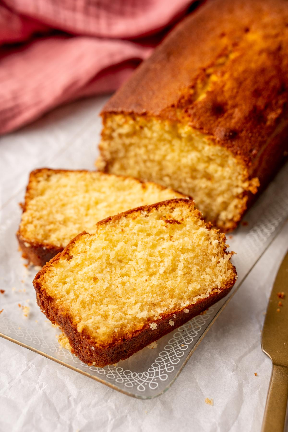 Salted caramel cake recept