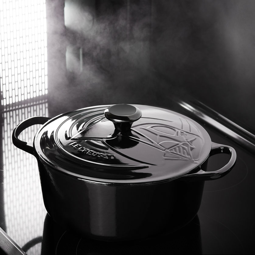 Le Creuset X Star Wars Darth Vader pan