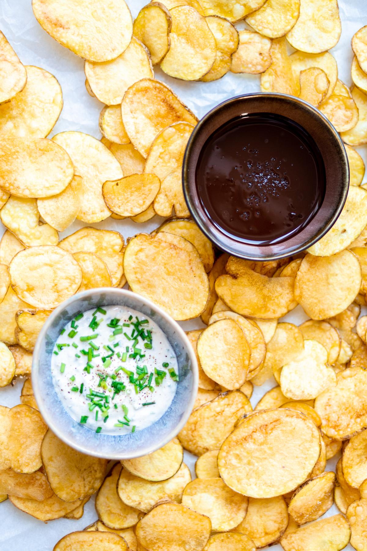 Zelf chips maken