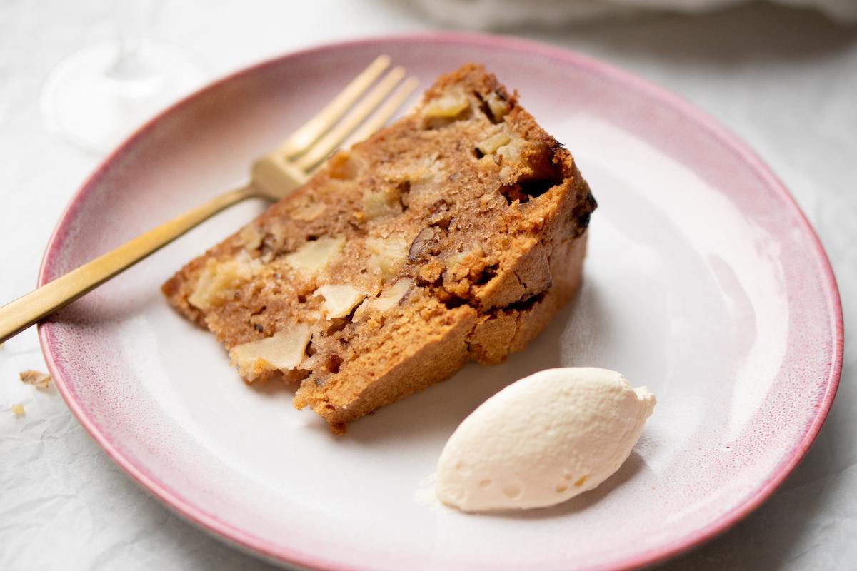Appelcake met Calvados