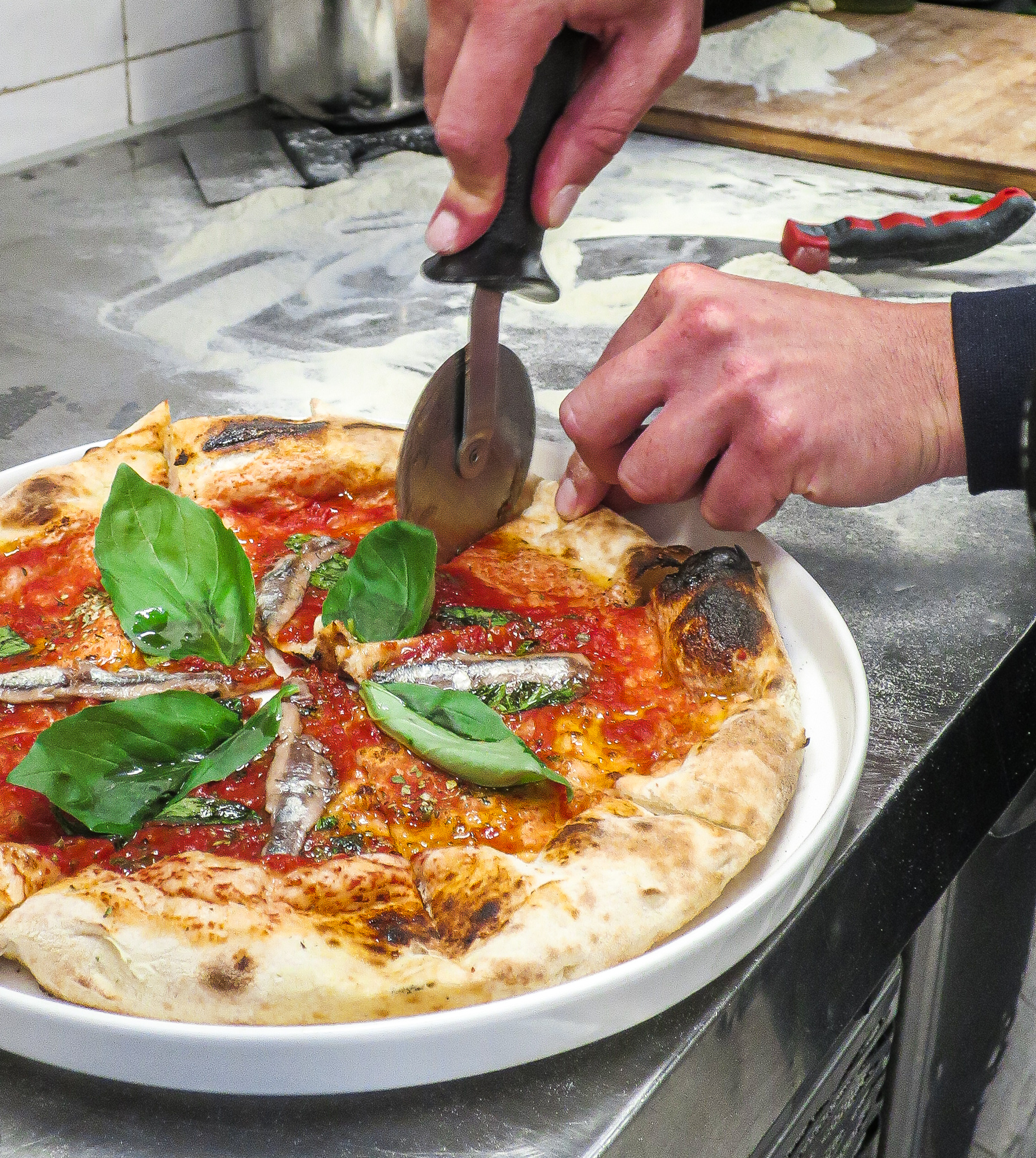 Napolitaanse pizza