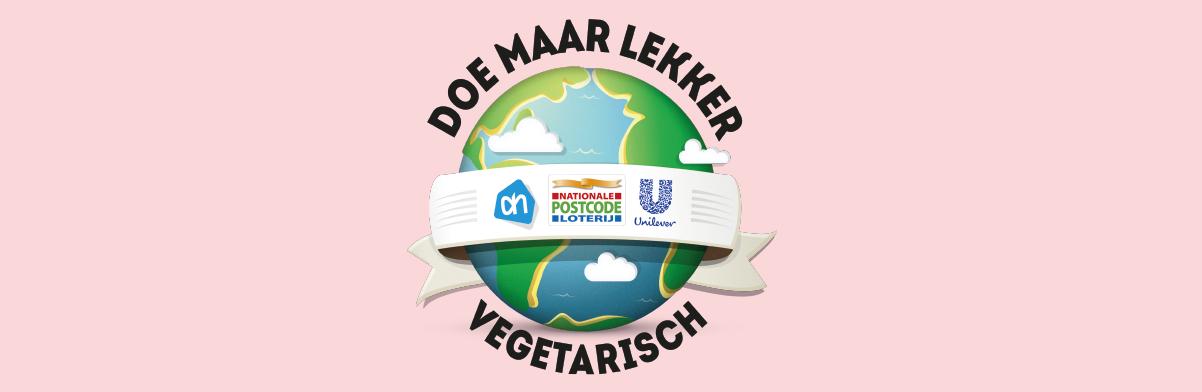 Logo DOE MAAR LEKKER VEGETARISCH