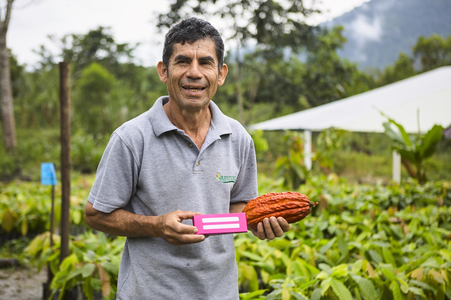 cacaoboer verbonden aan The other Bar