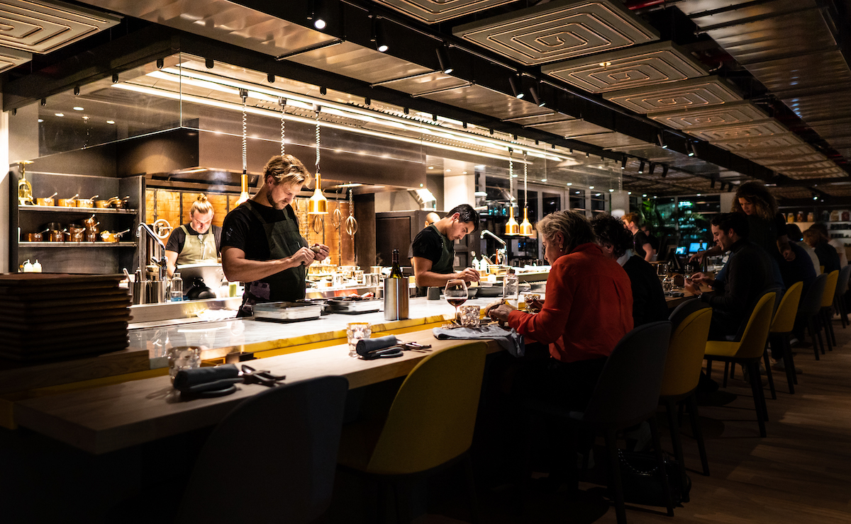 Wils restaurant in Amsterdam
