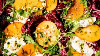 Kerst caprese salade: bijgerecht voor kerst