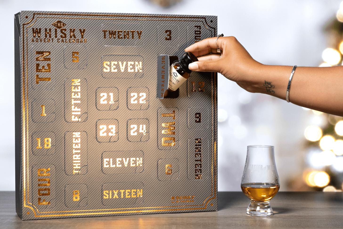 adventskalender met whisky