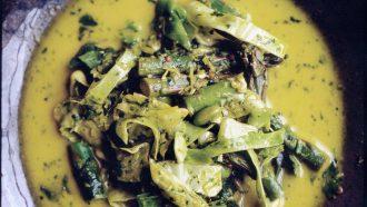 Soep van groene groenten