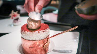 tiramisu met koffie-ijs bij &moshik