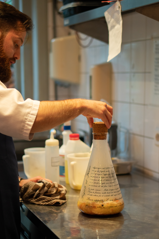 Cannelinibonen gekookt in fles bij Cucina Casalinga