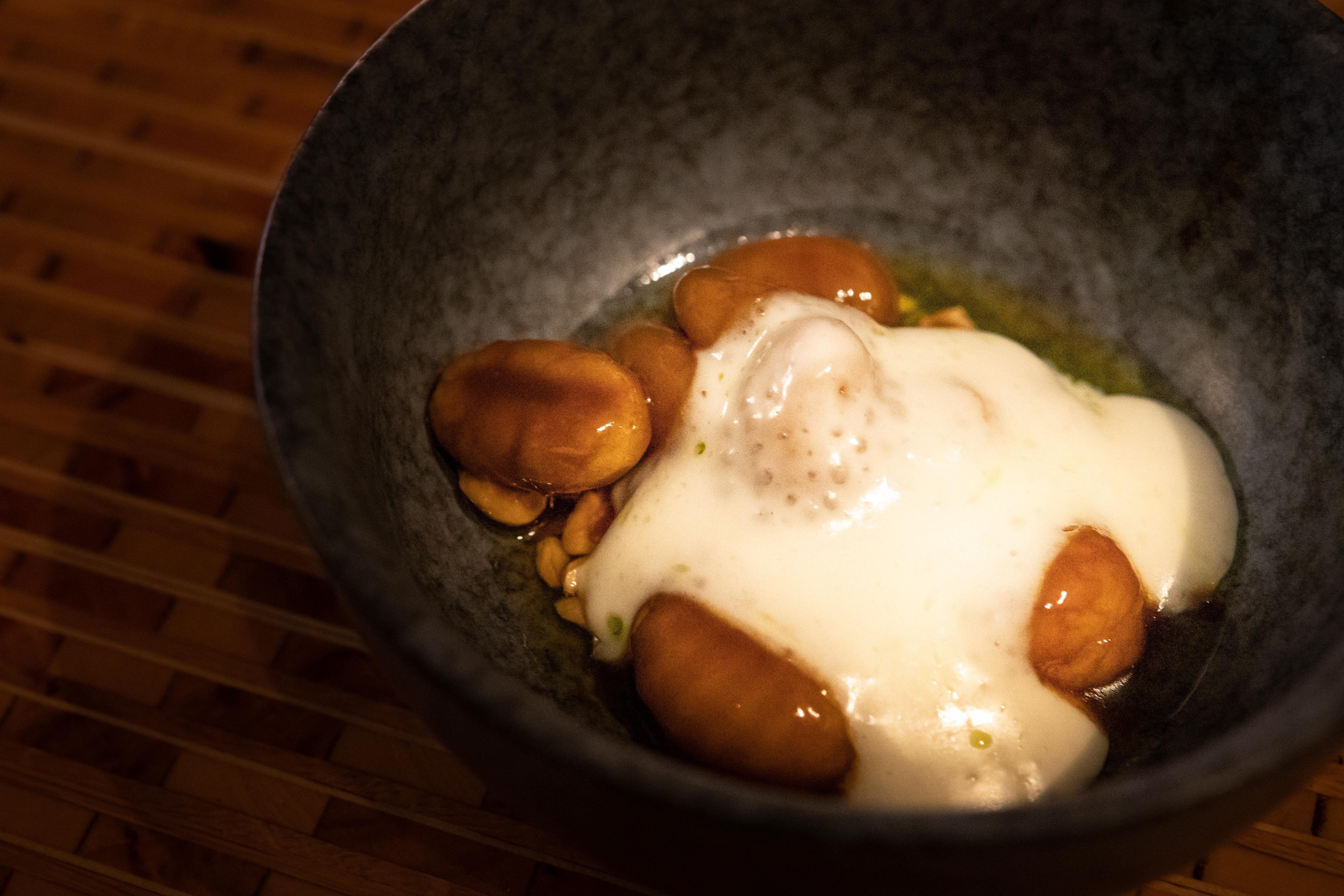 Gnocchi met uiencompote bij Edel by Dennis