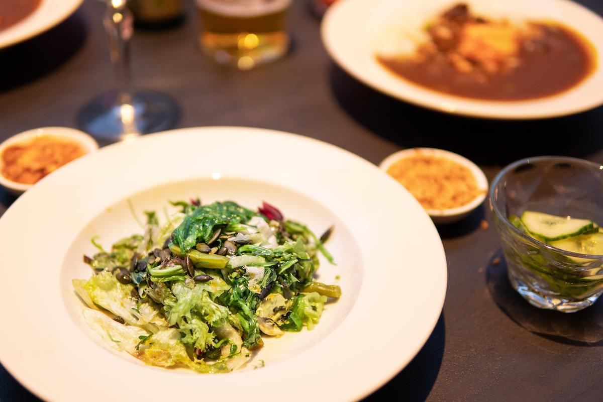 Japanse salade bij Kiiro