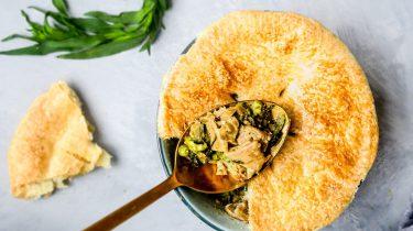 chicken pot pies header