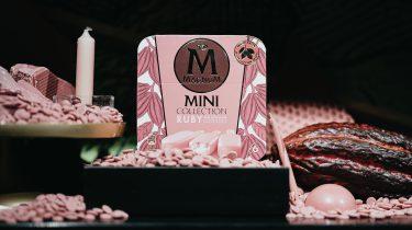 Magnum met ruby chocolade