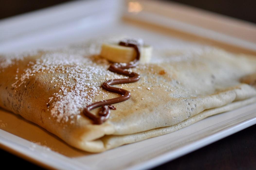 crêpe nutella als onderdeel van pannenkoeken van over heel de wereld