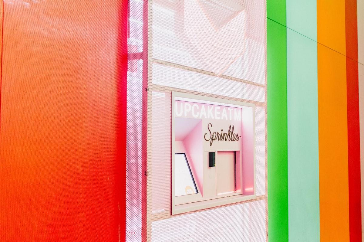 Sprinkles cupcake automaat
